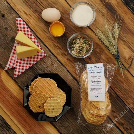MeseTallér - sokmagvas sajtos tallér