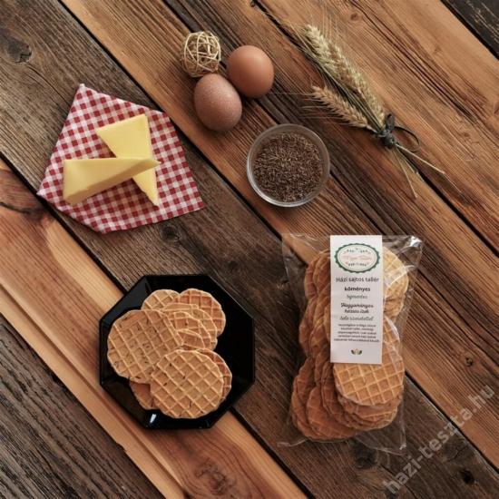 Tementes MeseTallér - köményes sajtos tallér