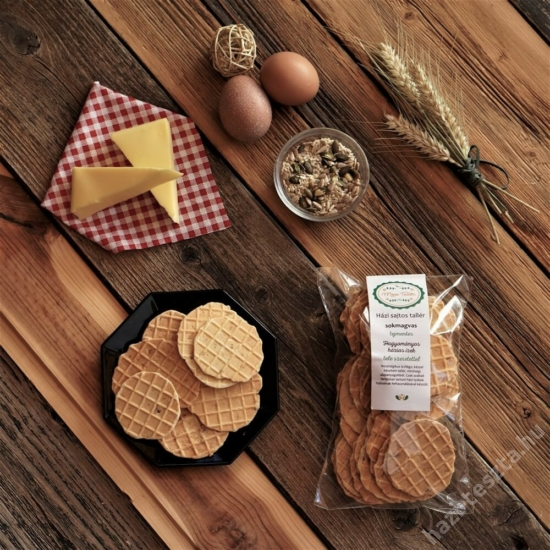 Tementes MeseTallér - sokmagvas sajtos tallér