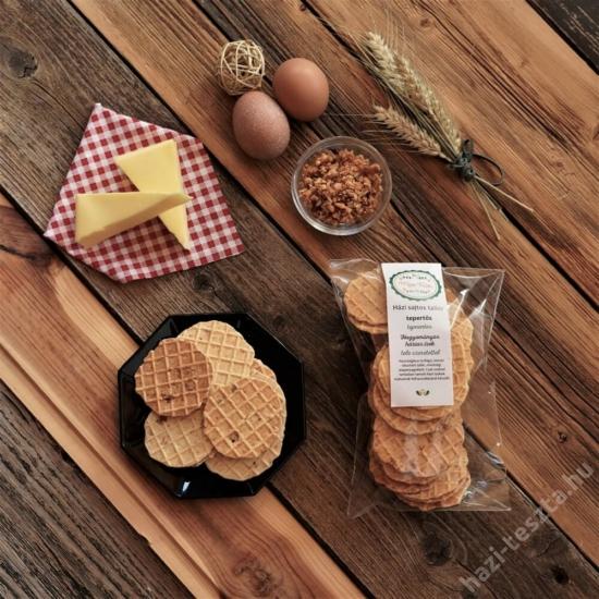 Tementes MeseTallér - tepertős sajtos tallér