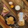 Kép 1/3 - MeseTallér - natúr sajtos tallér